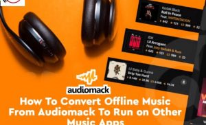 How to convert audiomack offline music to mp3 and play on other music app [100%]