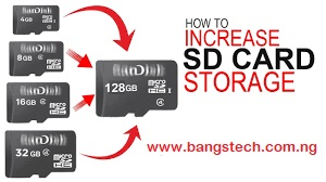 How To Increase/Expand An SD Card Storage Using SDATA software