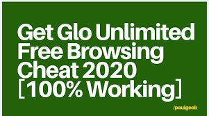 Glo New Cheat 2020 [100% Working]